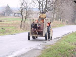 Rodinná verze klimatizovaného vozu pro manželku a tchýni