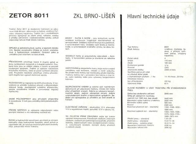 Staretraktory Cz Zetor 8011